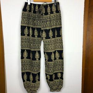 3/$30 Hippie Harem Pants Sz S